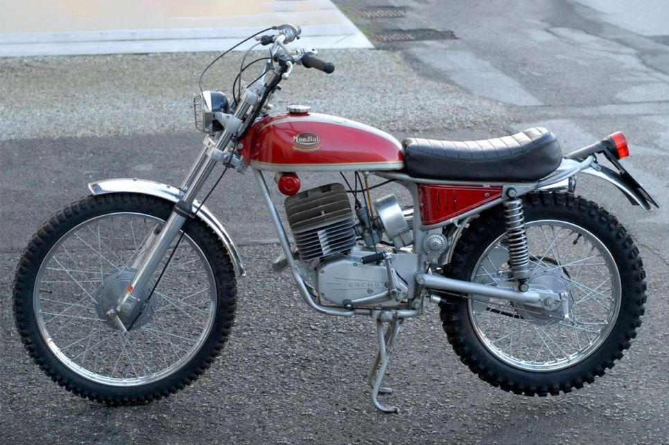 Mondial 125 Cross Radial